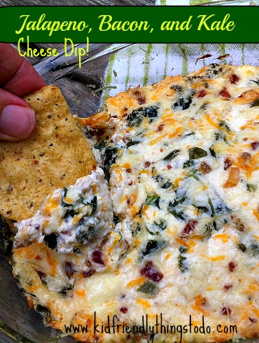 Jalapeno, Bacon, and Kale Dip – Kid Friendly Things To Do