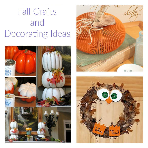 Fall Crafts & Decorating Ideas For Your Home – Kid Friendly Things To Do