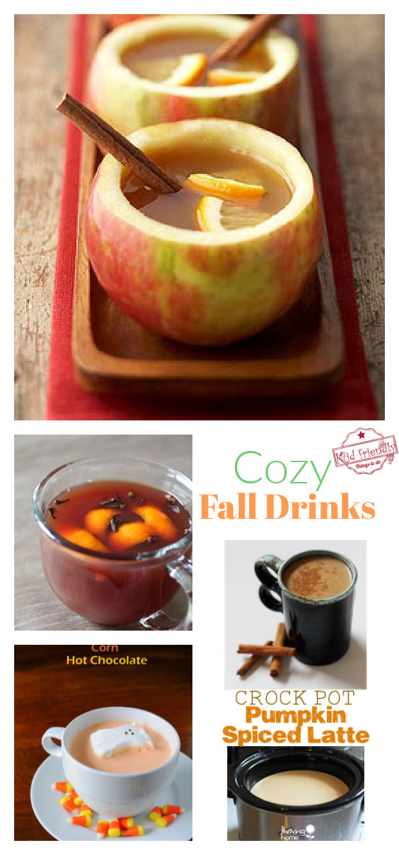 Cozy Fall Drinks to Warm You Up | Kid Friendly Things To Do
