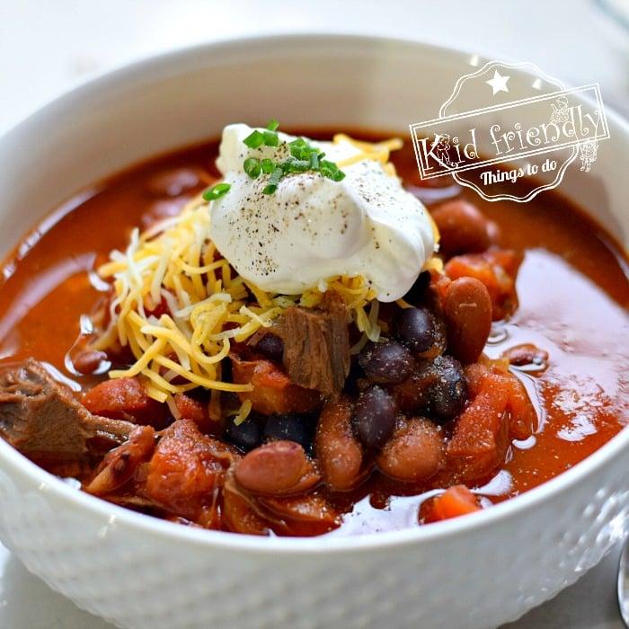 rump roast chili