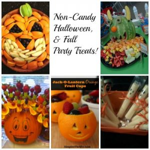 Healthy Fall, and Halloween Fruit Party Treats – Kid Friendly Things To Do .com