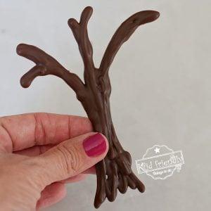 how to make chocolate trees