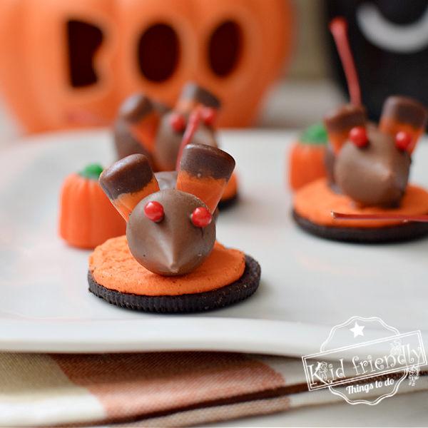Halloween Mice Cookies