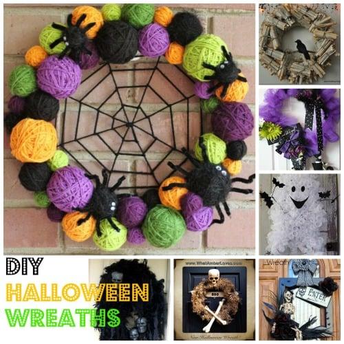 DIY Halloween Wreath – Kid Friendly Things To Do .com