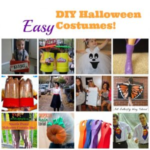 DIY Kid's Halloween Costume – Kid Friendly Things To Do .com