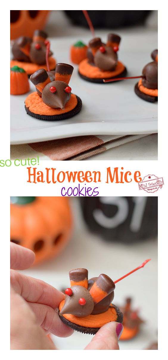 Halloween Mice Cookies Treat