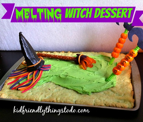 A Fun Melting Witch Dessert for Halloween – Kid Friendly Things To Do