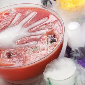 Halloween punch drink