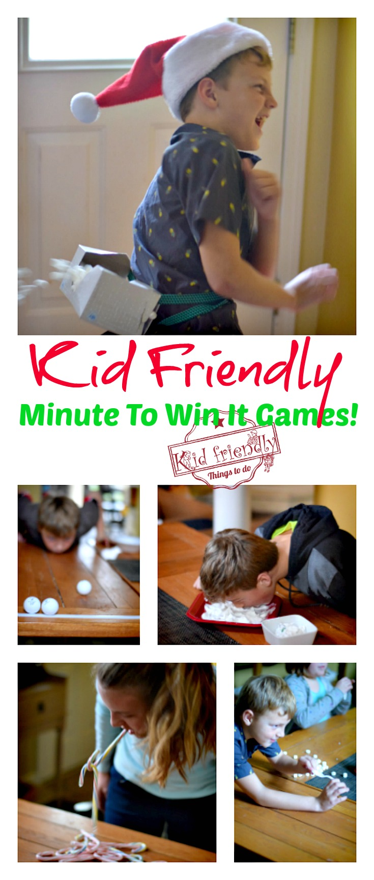 Super fun Kid Friendly Minute to Win It Games