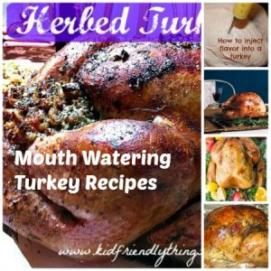 Mouth Watering Turkey Recipes – Kid Friendly Things To Do .com