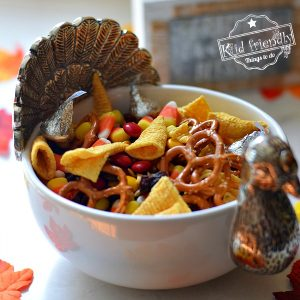 Thanksgiving Blessing Mix Recipe and Printable | Kid Friendly Things To Do