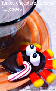 Making A Chocolate & Peppermint Turkey Spoon For Hot Cocoa or Coffee