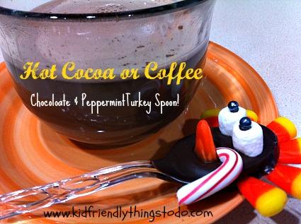 Hot Cocoa Bar Chocolate Turkey Spoon!