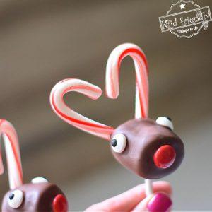 Rudolph marshmallow pop