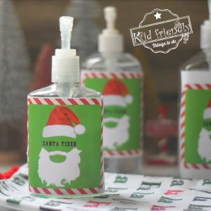 Santa-Tizer Gift Idea for Christmas