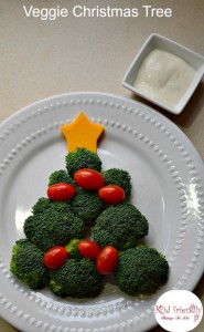 Vegetable Christmas Tree Shaped Snack – Kid Friendly Things To Do .com