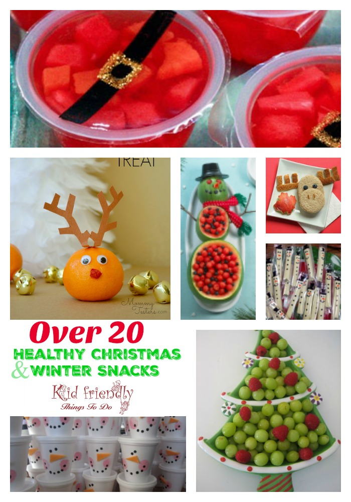 Fruit More Over 20 Non Candy Healthy Kid S Christmas Party Snacks
