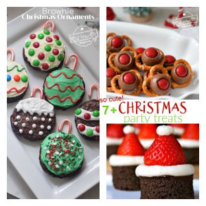 Christmas party treats for kids