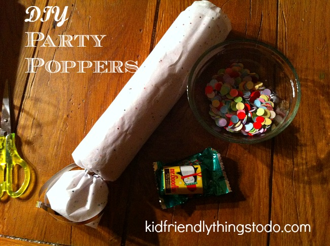 Diy How To Make Party Poppers