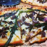 Flatbread White Pizza Wedges - great appetizer or light meal