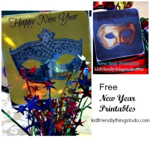 New Year's Eve Printables – Kid Friendly Things To Do .com