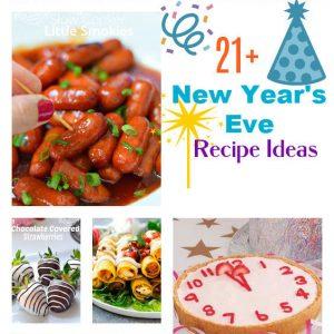 New Year's Eve Recipe Ideas