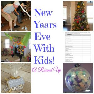 New Year's Eve ideas with kids