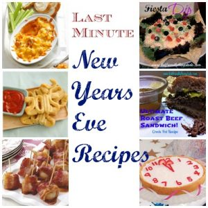 Last Minute New Years Recipe Ideas – Kid Friendly Things To Do .com