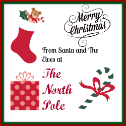 From the North Pole - Printable