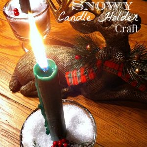 Christmas Candle Craft and Decoration