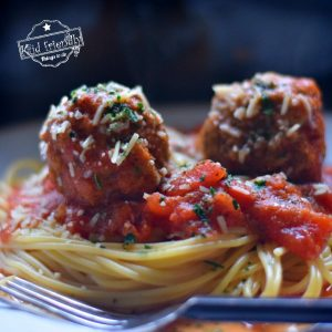 Delicious Spaghetti & Meatballs in a Crock Pot Recipe | Kid Friendly Things To Do