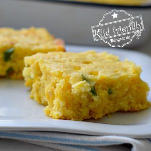 Shortcut Jalapeno & Cheddar Cornbread Using Jiffy | Kid Friendly Things To Do
