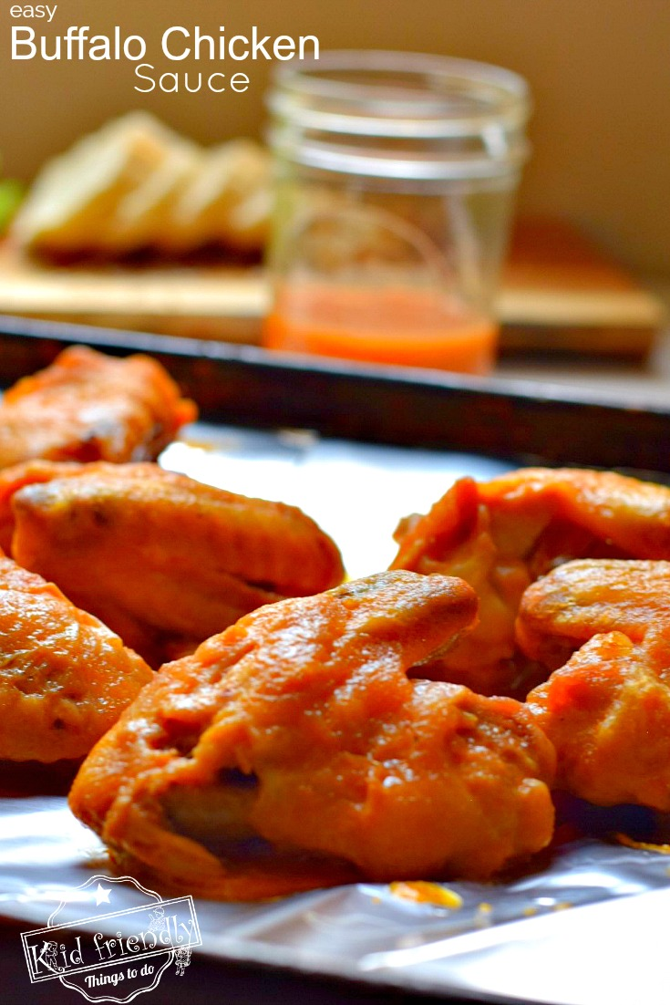 Easy buffalo sauce recipe