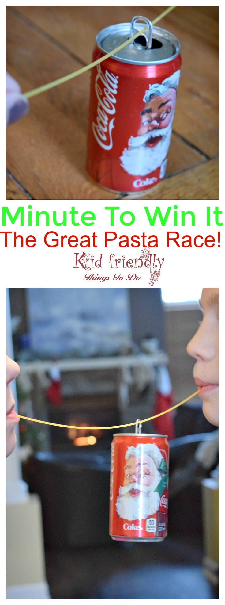 Minute to Win It Pasta Race