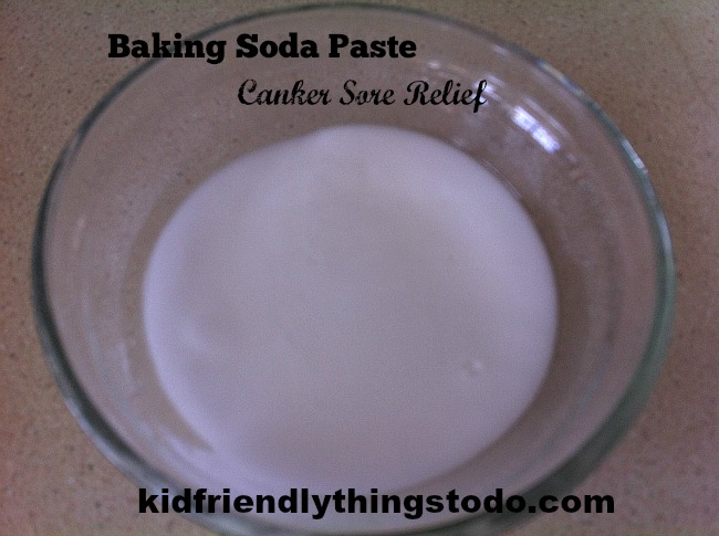 Canker Sore Home Remedy