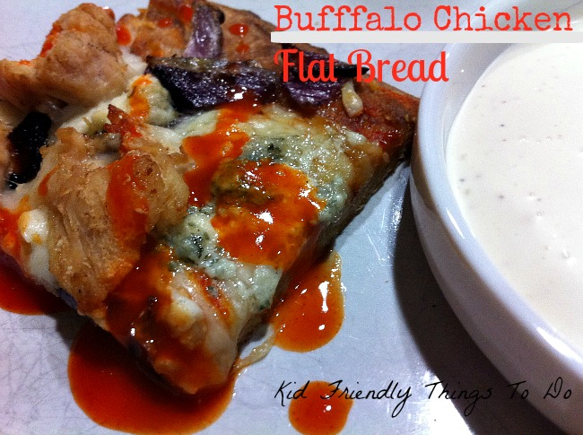 I confess, I am a  Buffalo Chicken Addict! This buffalo chicken flat bread is such a delicious appetizer or meal if want!