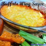 Buffalo Wing Sauce Dip. Hello Super Bowl Sunday!!!!