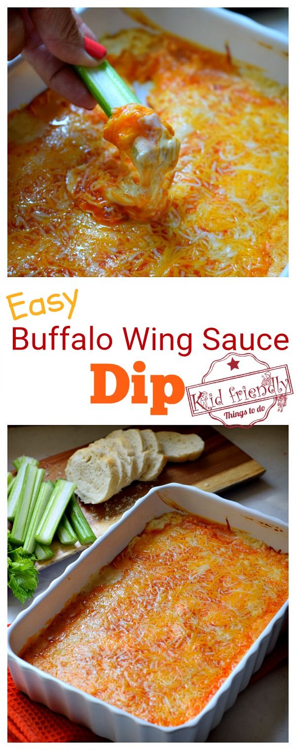 buffalo wing sauce dip recipe