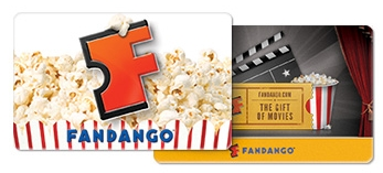 $25 Fandango Gift Card! Anything towards the cost of going to the movies is a huge help!
