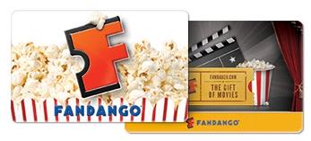 $25 Fandango Gift Card Giveaway!