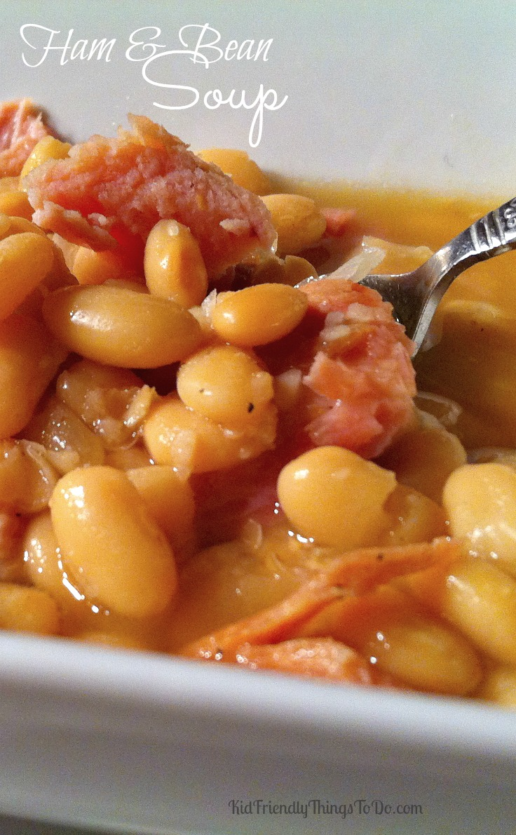 Ham and Bean Soup - KidFriendlyThingsToDo.com