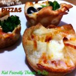 Muffin Tin Pizzas - A kid's favorite, and perfect finger food or appetizer for game days and holidays!