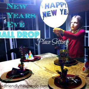 Ball drop Balloon New Year's Eve Table Decoration