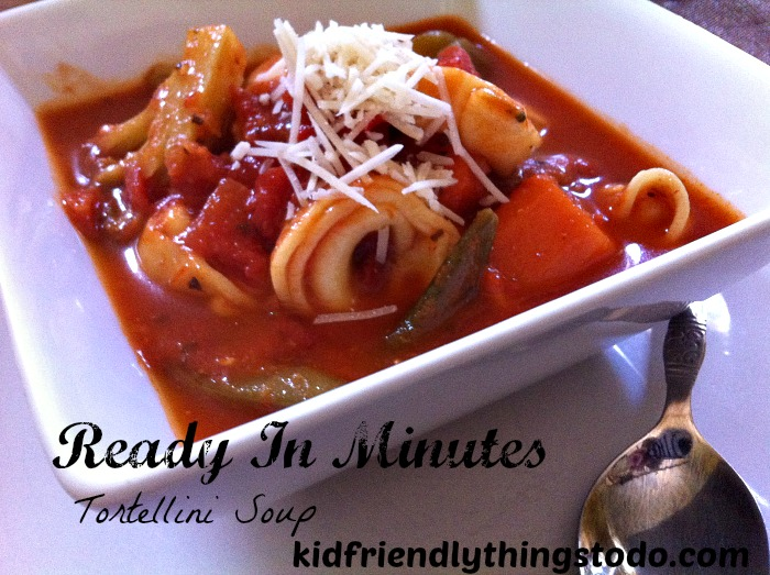 Perfect for these colder nights! Literally no prep time and ready in 15 minutes! Easy and delicious!