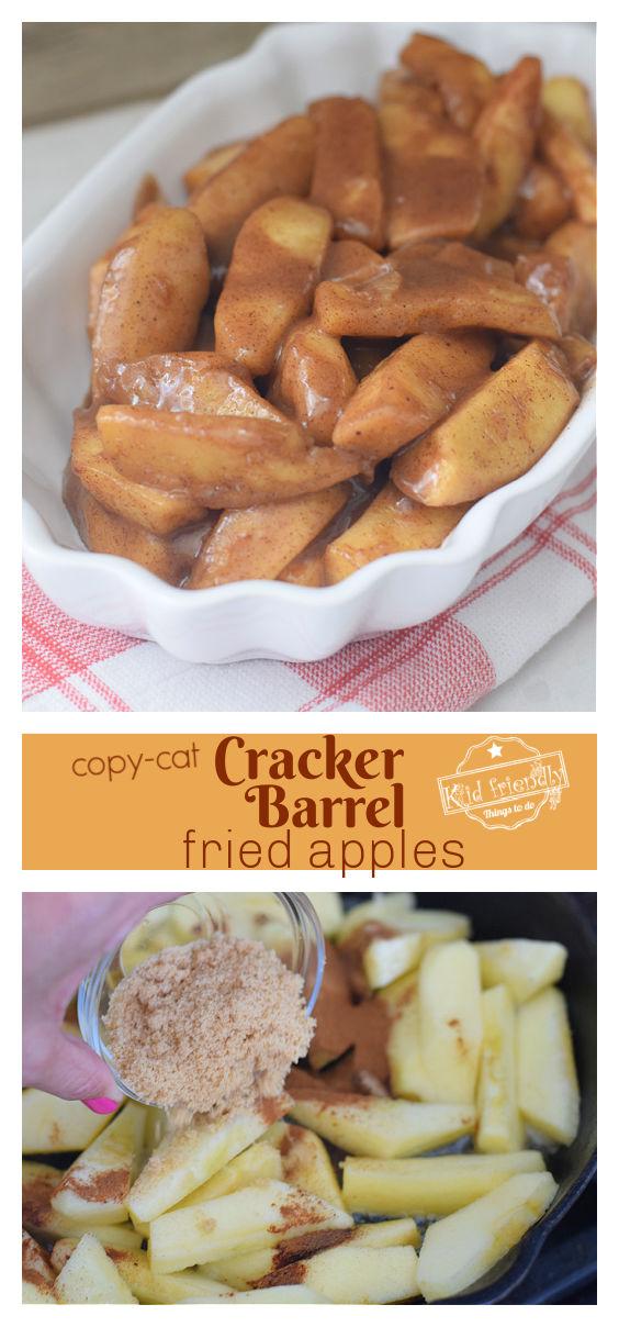 Copy-Cat Cracker Barrel Fried Apples