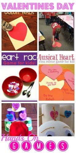 Valentine's Day Party Game Round Up