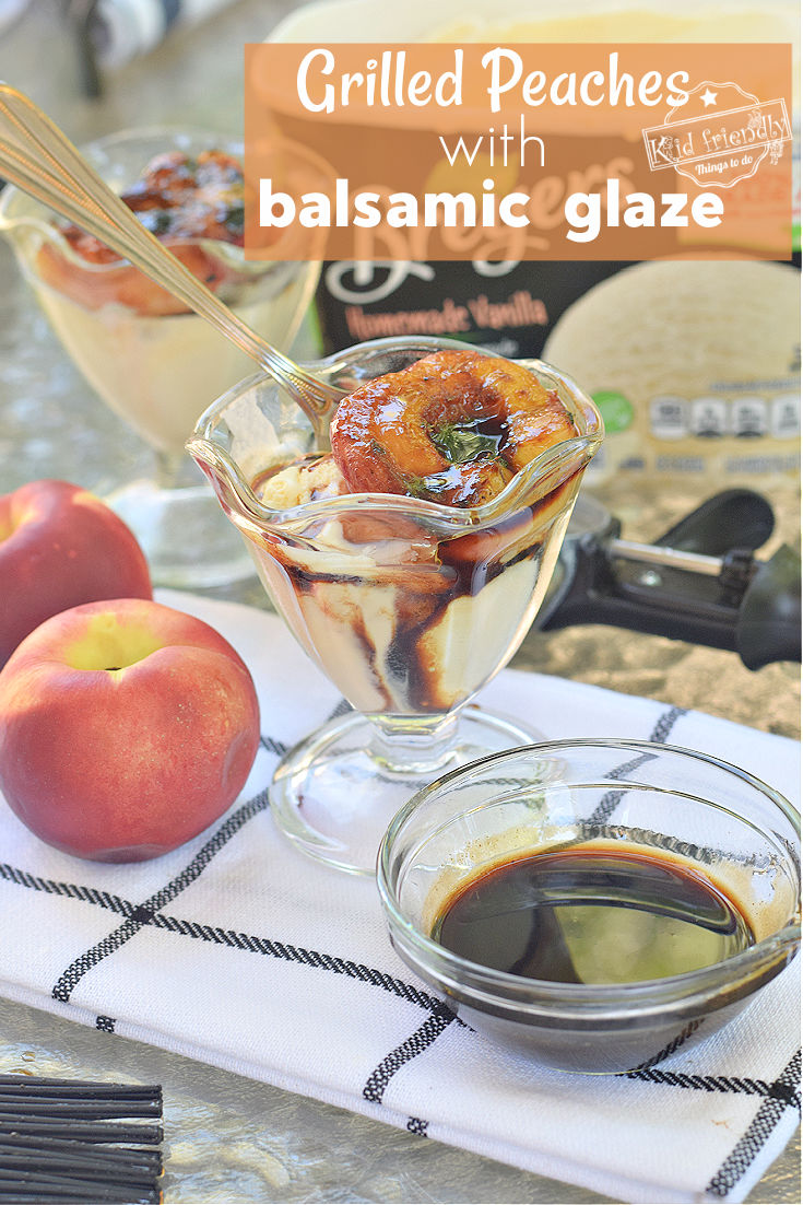 grilled peaches with balsamic glaze recipe