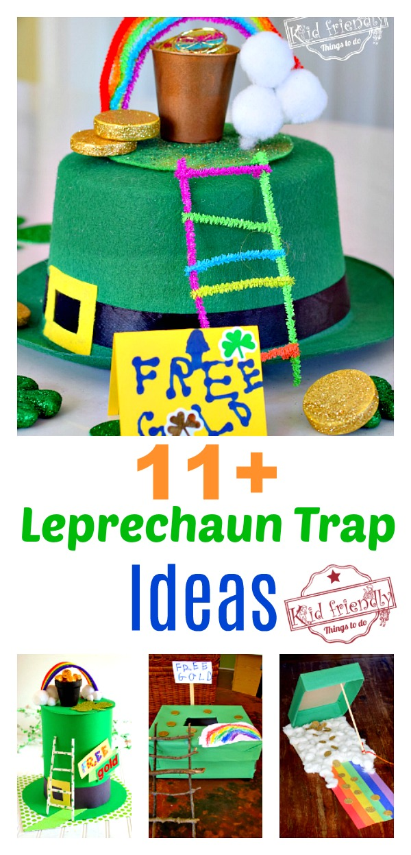 Over 11 St. Patrick's Day Leprechaun Trap Ideas to {Make Fun Memories} with the Kids | Kid Friendly Things To Do
