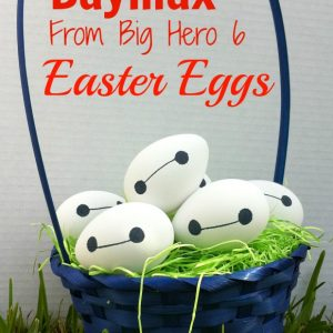 Baymax From Big Hero Six Easter Eggs! A Sharpie and an egg! So Genious!