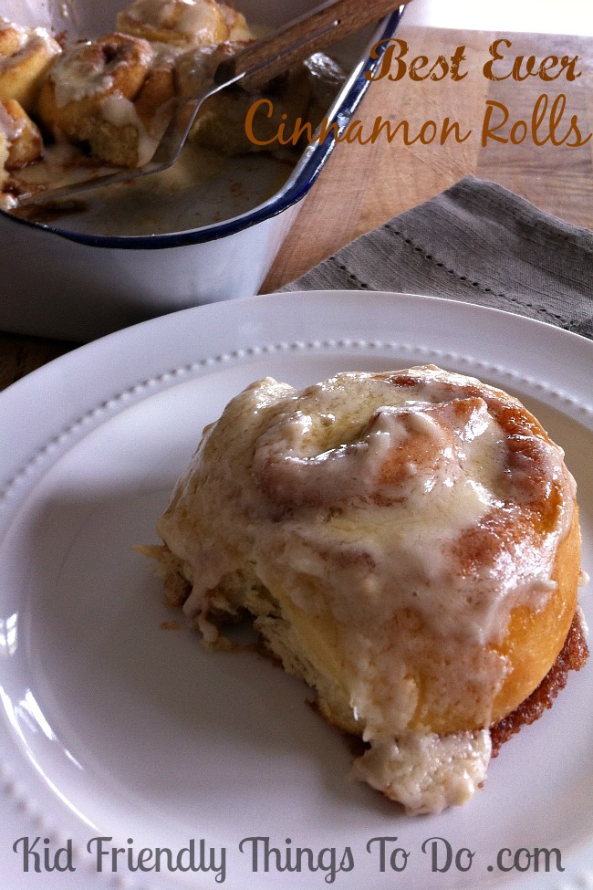 All Time Best Cinnamon Rolls